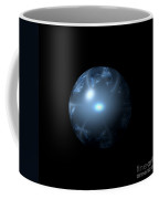 Blue Abstract Globe Coffee Mug