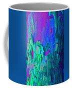 Blue Abstract Trunk Coffee Mug