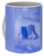 Blue Adobe Coffee Mug