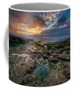 Blue And Gold Tidepools Coffee Mug