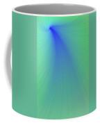 Blue And Green Abstract Coffee Mug