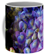 Blue And Purple Hydrangeas Coffee Mug