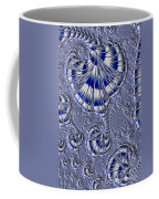 Blue And Silver 1 Coffee Mug