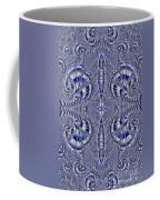 Blue And Silver 2 Coffee Mug