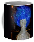 Blue And Silver Girl Coffee Mug