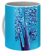 Blue And White Coffee Mug
