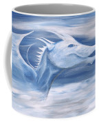 Blue And White Dragon Coffee Mug