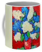Blue And White Lilac Bouquet Coffee Mug