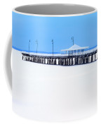 Blue And White Pier Coffee Mug