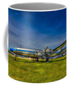 Blue And Yellow Connie Coffee Mug by Marvin Spates