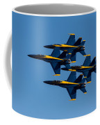 Blue Angel Diamond Coffee Mug