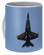 Blue Angel F/a-18 Coffee Mug