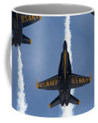 Blue Angels Overhead Break  Coffee Mug