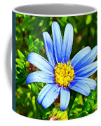 Blue Aster In Park Sierra Near Coarsegold-california   Coffee Mug