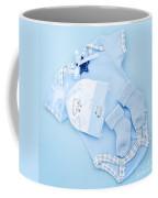 Blue Baby Clothes For Infant Boy Coffee Mug by Elena Elisseeva