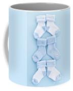 Blue Baby Socks Coffee Mug by Elena Elisseeva