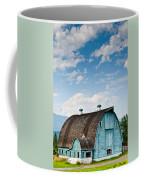 Blue Barn In The Stillaguamish Valley Coffee Mug