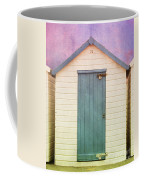 Blue Beach Hut Coffee Mug