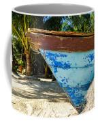 Blue Beached Canoe Coffee Mug