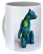 Blue Bear Coffee Mug by Derrick Higgins