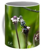 Blue Bee 2 Coffee Mug