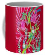 Blue Bird Trio And Heart Coffee Mug