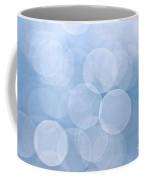 Blue Bokeh Background Coffee Mug