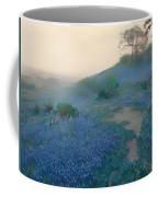 Blue Bonnet Field In San Antonio Coffee Mug