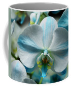 Blue Bow Orchid Coffee Mug