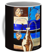 Blue Buds Multi Floral Coffee Mug