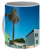 Blue Building In Historic Neighborhood Coffee Mug