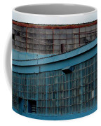 Blue Building Windows Coffee Mug
