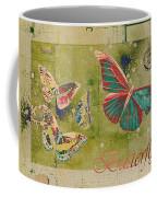 Blue Butterfly Etc - S55ct01 Coffee Mug