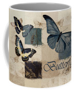 Blue Butterfly - J118118115-01a Coffee Mug