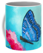 Blue Butterfly Coffee Mug