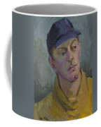 Blue Cap Coffee Mug