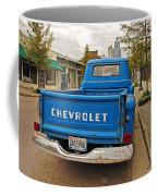 Blue Chevy Tailgate Coffee Mug