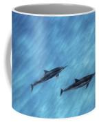 Blue Chill Coffee Mug by Sean Davey