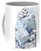 Blue Christmas Gift Boxes Coffee Mug