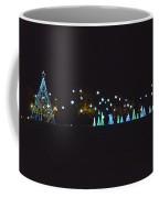 Blue Christmas Coffee Mug