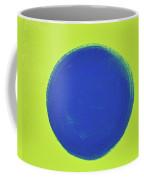 Blue Circ Coffee Mug