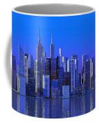 Chicago Blue City Coffee Mug