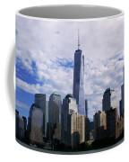 Blue Cloud Line Coffee Mug