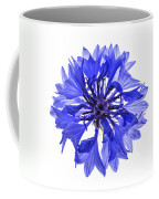 Blue Cornflower Flower Coffee Mug