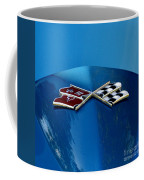 Blue Corvette Coffee Mug