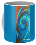 Cosmic Swirl By Reina Cottier Coffee Mug