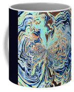 Blue Crazy Lace  Coffee Mug