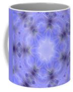 Blue Crystallized 1  Coffee Mug