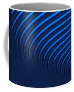 Blue Curves Coffee Mug