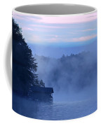 Blue Dawn Mist Coffee Mug by Susan Leggett